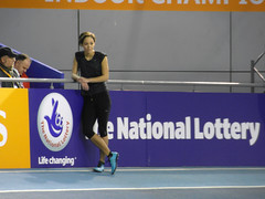 Katarina Johnson-Thompson (Dave_Johnson) Tags: eis englishinstituteofsport katarinajohnsonthompson britishathletics indoorchampionship