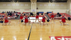 DJT_7068 (David J. Thomas) Tags: sports basketball athletics women cheerleaders arkansas bulldogs scots batesville seniorday benedictineuniversity lyoncollege