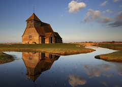 Fairfield Church, Romney Marsh (JamboEastbourne) Tags: old england church kent ancient marsh marshland fairfield romney