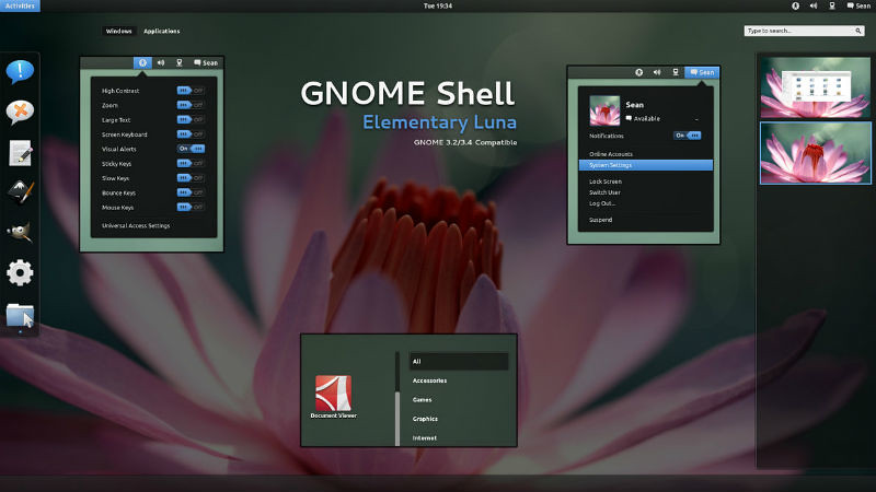 gnome-shell-elementary-luna