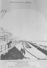 E01344 Grand Parade (East Sussex Libraries Historical Photos) Tags: pier seaside victorian eastbourne leisure bathing seafront 1860s eastsussex 1870s grandparade