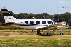 LV-JZJ (J. Martin Romero) Tags: money boeing piper beechcraft velocity beech seneca 170 baron 172 205 182 pa28 b19 pa11 pa22
