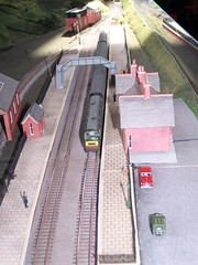 N gauge Warship Class locomotives (APB Photography) Tags: layout model railway class locomotive warship ngauge