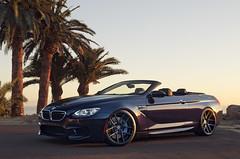 BMW M6 Convertible (j.hietter) Tags: california blue sunset wheels convertible whole klassen bmw m6 darkblue stance palosverdes wholecar frontangle