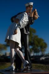 Unconditional Surrender (lleon1126) Tags: statue nurse sailor sarasotaflorida unconditionalsurrender