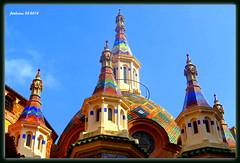 Lloret de Mar (Gerona) 2014-03_03 (ferlomu) Tags: iglesia cataluña gerona lloretdemar arquitecturamodernista ferlomu mindigtopponalwaysontop