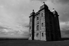 The Cage (13/52) (Nomis.) Tags: park england sky blackandwhite bw cloud building tower monochrome architecture square lumix mono skies cheshire northwest derbyshire hunting structures dramatic cage lodge deer hills panasonic cupola drama nationaltrust photooftheweek lyme 52 listed deerpark lymepark listedbuilding week13 2014 disley thecage gradeii 1352 sooc project52 lx3 lymecage cagehill project5213 52weeksthe2014edition week132014 weekstartingwednesdaymarch262014