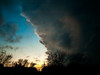 Round 1 (Eric W. Hodel) Tags: sky storm clouds warning texas olympus lightning tornado thunder huntcounty e410 ericwhodel