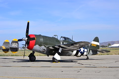 DSC_0614 (Stephen S...) Tags: world 2 vintage airplane war aircraft aviation historic airshow ww2 mustang warbirds chino p51 p47