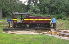 John Rennie at Ruislip Lido Railway. (sprocket316) Tags: narrowgauge ruisliplido ruislip miniaturerailway narrowgaugerailway ruisliplidorailway johnrennie alankeef