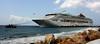 Pushing The Boat Out? (LuckMaster) Tags: cruise sea island high ship dynamic curacao cruiseship caribbean range curaçao hdr highdynamicrange eiland caribisch