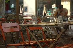 happy hour (sillybutterfly) Tags: italy table restaurant italia chairs sedie ristorante emiliaromagna cervia tavoli