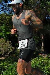 Todd Smithson (Chris Hunkeler) Tags: man tattoo beard sandiego running tattoos olympic triathlon challenge smithson chulavista triathlete 252 3539male toddsmithson bib252