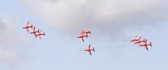 Reds 7 20150717 (Steve TB) Tags: redarrows riat 2015 raffairford rafat hawkt1