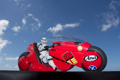 Ridin' in Style (katsuboy) Tags: anime starwars stormtroopers stormtrooper motorcycle akira kaneda projectbm variantplayartskai