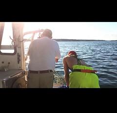 Max Bogdanovich out lobstering in Casco Bay, Portland, Maine #lobster #Stormline #stormlinegear #maine #portland #usa