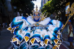 Clovis Costume, Rio de Janeiro - Carnival 2017. (Carlos Vieira.) Tags: costume clovis riodejaneiro carnival2017 colours downtown