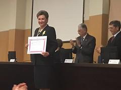 Ingreso Mª Teresa Real Academia de Medicina