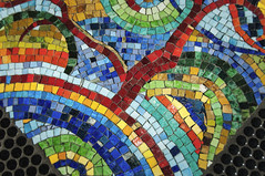 Colorful Mosaic (ac-marie) Tags: stone stonework tile tiles color colorful colors art artistic bright vibrant mosaic