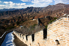 Mutianyu Great Wall (aldian.silalahi) Tags: county autumn winter beijing greatwall mutianyu huairou