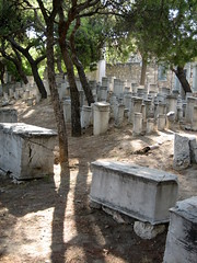 032 - Grave markers (Scott Shetrone) Tags: other graveyards events places athens greece 5th kerameikos anniversaries
