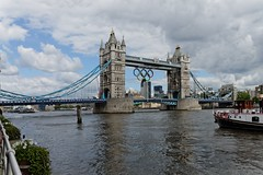 Tower Bridge during 2012 Olympics (dsidd) Tags: uk england london towerbridge