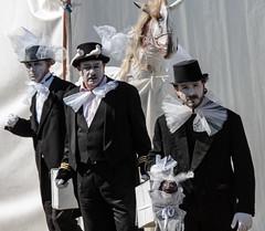 Black brothers (Emanuele Spano') Tags: clown emilia modena carnevale viso magico maschere terremoto personaggi sanfelicesulpanaro