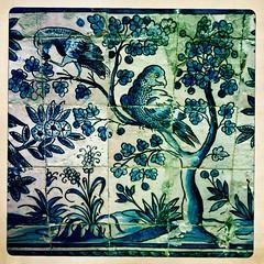 Fronteira. (azurblue) Tags: city square europe lisboa palais lisbonne azulejos iphone fronteira hipstamatic