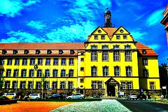 The court #house of #Eisenach. (Lars Gebauer) Tags: blue red house yellow android eisenach streamzoo