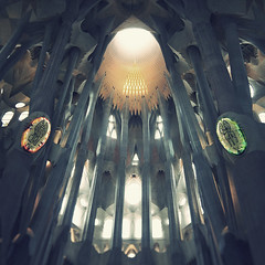 Sagrada Familia (Con Ryan) Tags: barcelona architecture sagradafamilia select antonigaud
