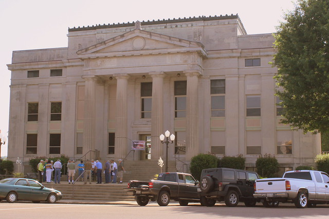 Carroll County Courthouse Prayer on the Square - Huntingdon, TN