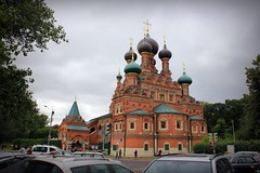 Temple of the Trinity in Ostankino             (Serge 585) Tags: old city summer art church june architecture religious cathedral russia moscow religion temples antiques christianity russian orthodox architettura chapelle chrzecijastwo russianarchitecture me2youphotographylevel1