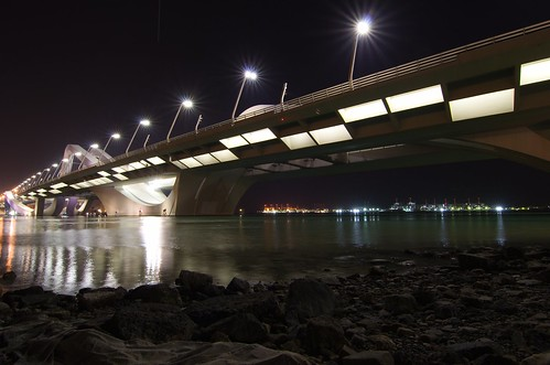 Sheikh Zayed Bridge 5 ©  Still ePsiLoN