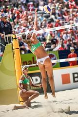 FIVB Beach Volleyball World Tour (Patrick Frauchiger) Tags: world beach sports sport ball court schweiz switzerland slam sand tour centre grand tournament volleyball volley gstaad saanen fivb 2013 cantonofbern gstaadion