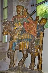 Saint Martin (Phil du Valois) Tags: sculpture saint statue martin muse bois valois polychrome crpy archerie