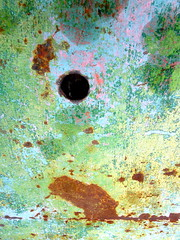 hole in table metallica (gerrygoal2008) Tags: old metal table rust paint colours hole painted rusty metallica metalic metallique concordians