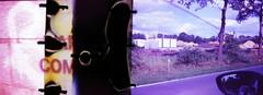 war is coming (Der Ohlsen) Tags: colour film analog 35mm germany deutschland diptych war slide e6 kb schleswigholstein quickborn kodakektachrome100plus smilecam hohenwestedt
