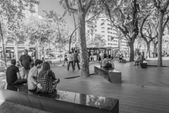 DSCF2188 (veneman) Tags: barcelona street city blackandwhite bw fujifilm x20 photographersontumblr