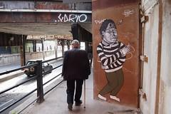 birdhouse (OTHERBSM) Tags: life street bridge toronto ontario canada bird art wall pain hurt drawing birdhouse it things goes how