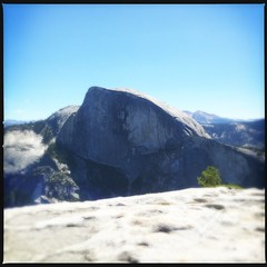 Half Dome, from North Dome Trail (throgers) Tags: california nature nationalpark nps yosemite halfdome yosemitenationalpark nationalparkservice northdome northdometrail