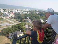 CIMG6543 (hapersmion) Tags: vacation lighthouse beach ga sam tybee tybeeisland homeschool grandaddy tybeelighthouse