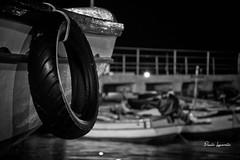 DSC_0013 (chetelodicoaffare) Tags: blackandwhite night boat nikon barca barche palermo biancoenero mondello