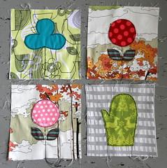 Penny sampler applique blocks (Lotje quilts) Tags: colors quilt fabric blocks applique scandinavian