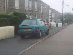 Subaru Justy (occama) Tags: subaru justy green 1995 1996 old car cornwall uk 4x4 4wd 4 wheel drive small rare retro snow ice mud practical economy economical n996nyg