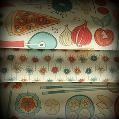 World food fabric collection (ebygomm) Tags: fabric spooonflower