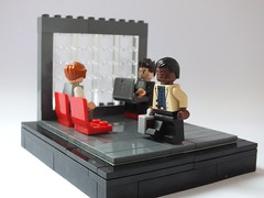Batwing's War Journal #1: Airport Security. (The_Lego_Guy) Tags: lego batman incorporated batwing