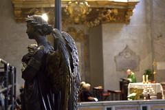 angel (BigZoic) Tags: rome roma church statue italia prayer monk musee cesar italie jule priere prete eglisse