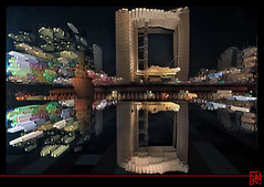 La Grande Arche en folie (mamnic47 - Over 6 millions views.Thks!) Tags: img3362 effetphotoshop effetsdelumires