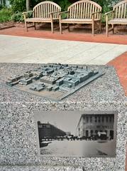 Traces (ArtFan70) Tags: cambridge sculpture usa art america ma unitedstates map massachusetts traces relief miller raymond universitypark 3dmap cambridgeport rossmiller monicaraymond