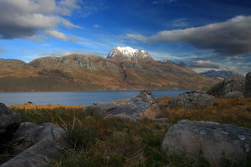 Silioch And Loch Maree